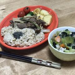 バルサミコ酢/うど/しめじ/牛肉/時短レシピ/簡単レシピ いつの日かの夕ご飯!メインは、牛肉、ウド…