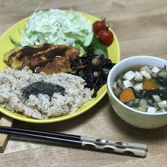 味噌汁/夕飯のおかず/簡単ごはん/モウカサメ/おうちごはん いつの日かのダイエットコーチのリアル夕ご…
