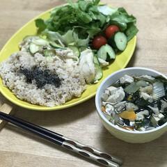 ズッキーニ/鶏胸肉/クレイジーソルト/時短料理/簡単ごはん/夕ご飯 いつの日かのダイエットコーチのリアル夕ご…