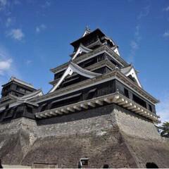 建築 元気な時の熊本城です。絶好のタイミング。…