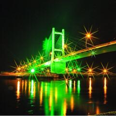 建築 松川浦大橋です。