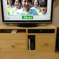 テレビ台diy 部屋にjust fitのテレビ台を設計し…