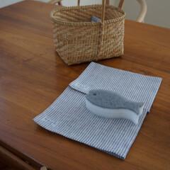 ポアソンキッチン・おさかなスポンジ 3色セット マーナ | マーナ(スポンジ、たわし)を使ったクチコミ「月始めにスポンジを交換。今月はキッチンク…」
