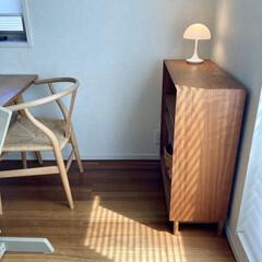 STOKKE トリップトラップチェア TRIPP TRAPP 子供椅子 ダイニング ベビー チェア イス ストッケ社 | トリップトラップ(ベビーラック、チェア)を使ったクチコミ「普段は寝室に置いているパンテラポータブル…」(1枚目)