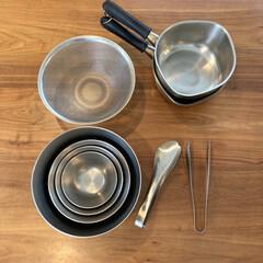柳宗理 ボール4個セット ステンレスボール4PCS | 柳宗理(その他キッチン、台所用品)を使ったクチコミ「キッチンアイテムの愛用品。どれも長年使っ…」