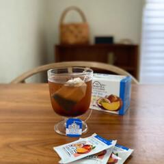 レンピ/アイスティー/水出し/時短レシピ/ラク家事/夏対策 友人お勧めの水出し紅茶。ほのかにフルーツ…