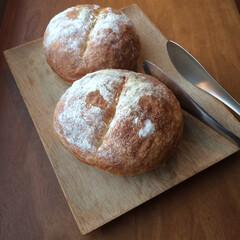 トング/柳宗理/手作りパン/キッチン雑貨/おうちごはん/暮らし いろいろ焼いた週末。フランスパン風のパン…