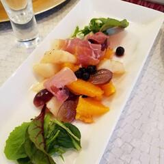 幸せわたしのごはん/ル・レクチエ/フルーツサラダ/わたしのごはん 冬になるとご近所さんからいただく、ル・レ…