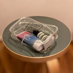 スキンアクア トーンアップUVエッセンス(その他日焼け止め)を使ったクチコミ「我が家の長女の持ち物。ダイソーで購入した…」
