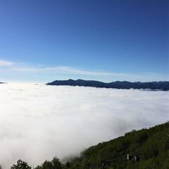 雲海/トマム/雲海テラス/北海道 トマムで見た雲海。ゴンドラに乗って雲海テ…