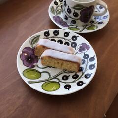ウィークエンドシトロン/北欧食器/パラティッシ/手作りおやつ/おうちごはん/暮らし 今週3度目のウィークエンドシトロン。今回…