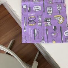 STOKKE トリップトラップチェア TRIPP TRAPP 子供椅子 ダイニング ベビー チェア イス ストッケ社(ベビーラック、チェア)を使ったクチコミ「子どもが選んだ、ダイソーの手ぬぐい。 二…」