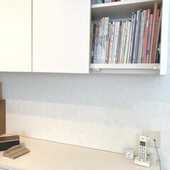 レデッカー ハースブラシセット ブナ お手入れ 掃除 箒 | ファイヤーサイド(掃除用ブラシ)を使ったクチコミ「リビング棚の上段には、本や雑誌を収納して…」