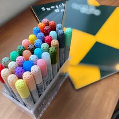 Too コピック チャオ 36色 Bセット(ベビー布団、セット)を使ったクチコミ「美術部に入っている長女の愛用品。 先日も…」