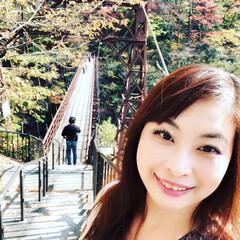 乗り物大好き/ピクニック部/ハイキング部/紅葉狩り/鬼怒川/紅葉スポット/... 鬼怒川の吊り橋のあとおさるの山のロープウ…