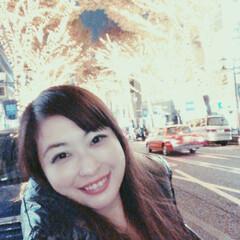 渋谷/クリスマス/フォロー大歓迎/風景 渋谷の宮益坂が街路樹ライトアップ!仕事の…