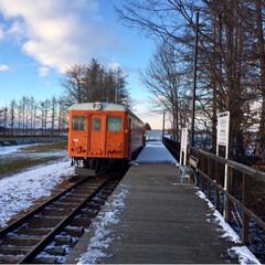 鉄道/廃線の旅/北海道/フォロー大歓迎/おでかけ/風景/... 廃線となった旧広尾線 北海道の名所でした…(5枚目)
