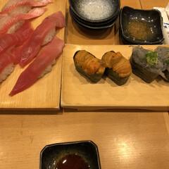 フォロー大歓迎/冬/ごはん/おでかけ/旅行/グルメ/... 三島駅すぐの魚がしのお寿司🍣ネタも新鮮で…