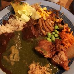 カレー好きと繋がりたい/ヘルシーカレー/カレー食べ放題/食べ放題/コスパがいい/246/... 渋谷246沿のもうやんカレーに行きました…
