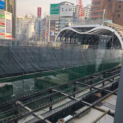 メトロ/銀座線/LIMIAおでかけ部/フォロー大歓迎/おでかけ/風景/... 渋谷の銀座線のM屋根!ニュースに出てまし…