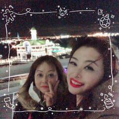 おうち/2018/フォロー大歓迎/クリスマス/クリスマスツリー/旅行/... パシフィコ横浜に来てまーす😊クリスマスの…(1枚目)
