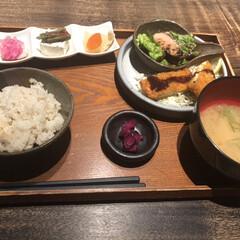 フォロー大歓迎/冬/ごはん/おでかけ/グルメ/フード お昼はいつも行くお店の隣の和食屋さんにし…