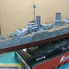 戦艦好き/ゆとりある暮らし/プラモデル部/ロシア戦艦/フォロー大歓迎/ハンドメイド/... ロシア戦艦セバーストポリ1931🇷🇺 迫…