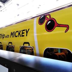 撮影許可済み/令和元年フォト投稿キャンペーン/令和の一枚/フォロー大歓迎/LIMIAファンクラブ/LIMIAおでかけ部/... 博多駅でミッキー新幹線を見かけました!😊…