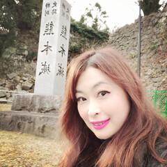 復興/あけおめ/フォロー大歓迎/冬/年末年始/お気に入り/... 熊本城です🏯私たちの天守閣が戻って来まし…