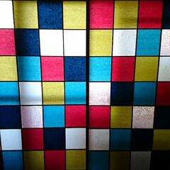DIY/インテリア/家具/ニトリ/イケア/住まい/... 古くなった障子紙を張り替えてみました☺️…