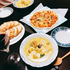 ぶどう酒/スープ皿/陶芸家/沼田智也/シチュー/かぼちゃ/...