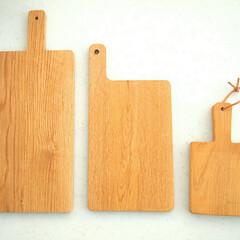 手作り雑貨/てづくり/トレー/ごはん/ワンプレート/ナチュラルライフ/... ◆天然木のカッティングボード◆  一番小…