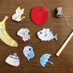 釣り/おもちゃ/両親/実家/ハンドメイド 今日は実家へ遊びに行ってきました🚗 息子…