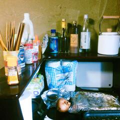 台所/キッチン 我が家のキッチンスペース。  ソファーの…