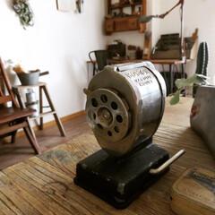 シューモールド/Tin缶/工具/鉛筆削り/ディスプレイ/ヴィンテージ/... 【鉛筆削り】 Bostonの古い鉛筆削り…