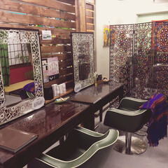ディアウォール 自店美容室の鏡置きをDIY!!  今まで…