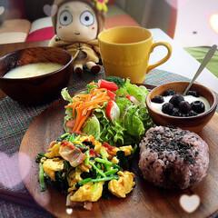 おうちカフェ 彩りよく、栄養バランスもよく、気分も良く…