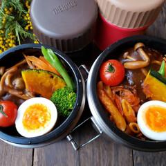 obentopark/日/おうちごはんlove/ランチ/お昼が楽しみになるお弁当/スープジャー/... おはようございます✨ 金曜日‼️ 本日の…