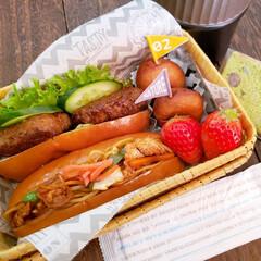 スープジャー/竹籠弁当/お昼が楽しみになるお弁当/おうちごはんlover/旦那弁当/女子高生弁当/... おはようございます✨ 土曜日のお弁当❗ …