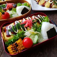 女子高生のお弁当/高校生弁当/お昼が楽しみになるお弁当/おうちごはんlover/obentopark/冷凍食品は使いません/... 今日のお弁当 ❗ *オムソバ弁当 …