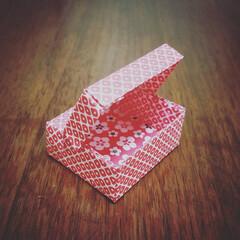 ハンドメイド/小箱/ORIGAMI/折り紙 何をしまう?  かわいい和小箱