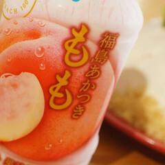 家族団らん/至福の時間/食後のデザート/おうち時間/おうちカフェ/エキナカ/... 桃のムースドームケーキを作りました𓂃 …(2枚目)