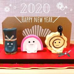 めでたい/玄関ニッチ/concombre/お正月2020/雑貨/住まい/... 玄関ニッチより。  明けましておめでとう…