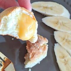 おうちカフェ/おうち時間/おうちごはん/休日/ブランチ/ちぎりパン/... ホットケーキミックスでちぎりパンを作って…(4枚目)