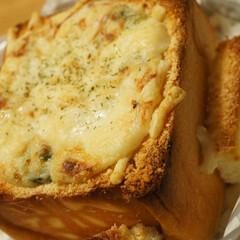 パーティーメニュー/オーブンメニュー/夕ご飯/おうちごはん/パングラタン/高級食パン/... 義兄からお土産でとある高級食パンを頂きま…