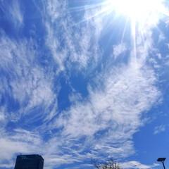 夕焼け/雲/空/雨季ウキフォト投稿キャンペーン/おでかけ/風景 今日は、午前中何処かすっきりしない空模様…
