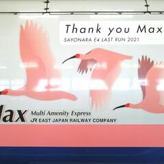 淋しい/今までありがとう/ラストラン/推し/E4系MAX/新幹線 E4系MAXが2021年10/1にラスト…(3枚目)