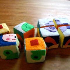 私の手作り/手作り/ハンドメイド/手芸/フエルト/刺繍/... 100均グッズで「知育玩具」を手作り  …(1枚目)