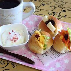 おうちカフェ 三種のパッカンサンド(1枚目)