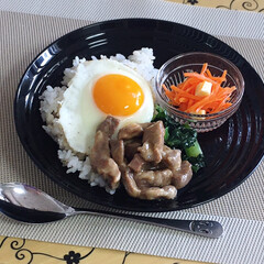 うちの定番料理 魯肉飯でランチ